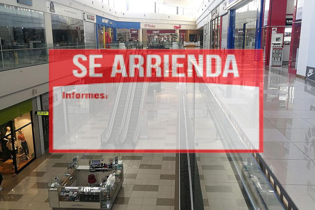 Muchos locales cerrados en los centros comerciales: ¿por qué?