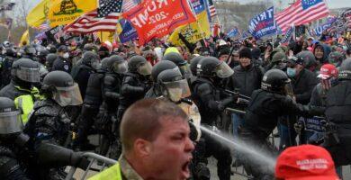 Cómo la derecha está tratando de remodelar la historia de los disturbios del 6 de enero